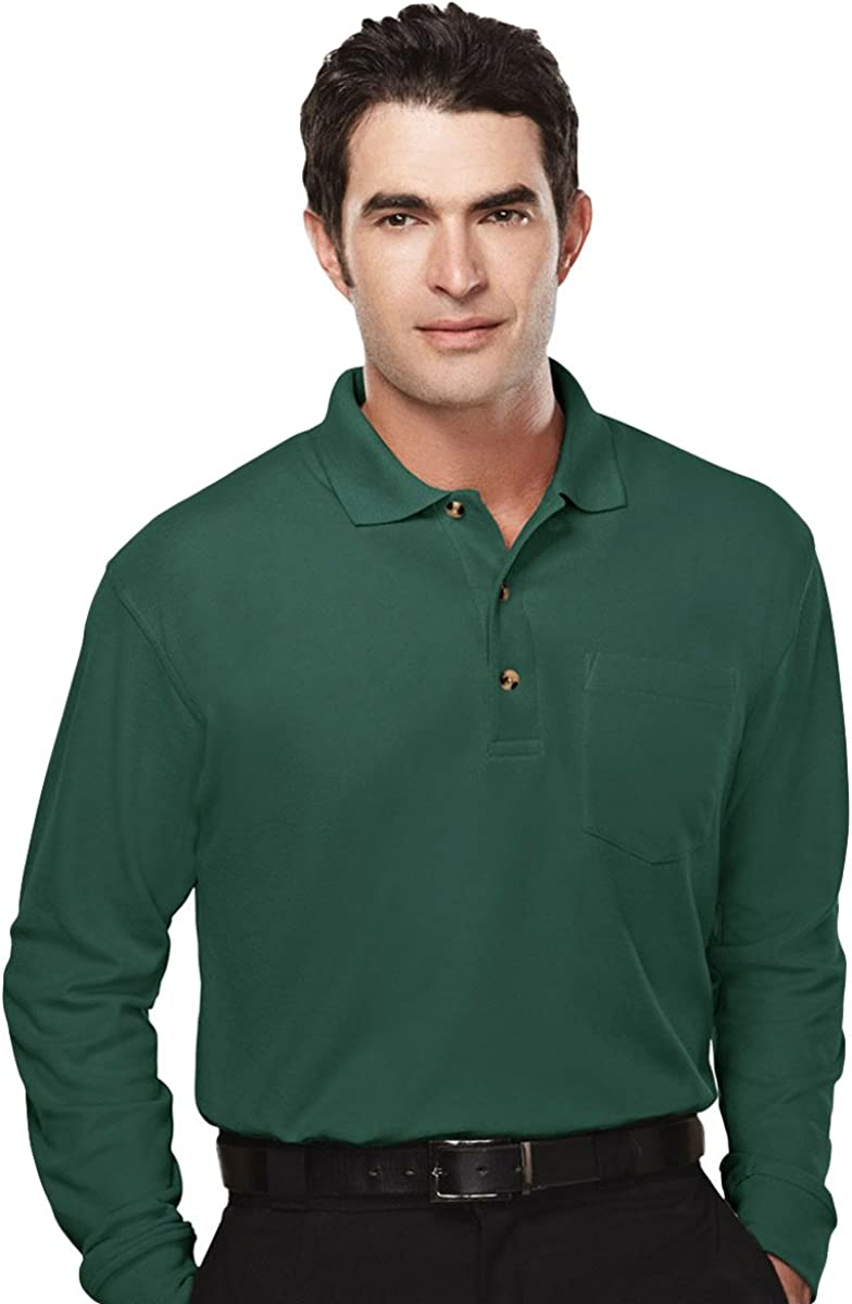 106-Tall Tri-Mountain Men/'s Big And Tall Short Sleeves Pique Knit Polo T-Shirt