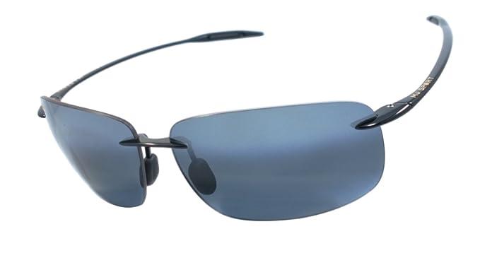 6b37f6c8d48 Image Unavailable. Image not available for. Colour: Maui Jim 422-02  Breakwall Pc-pg 100% Authentic Men's Polarized Sunglasses Gloss