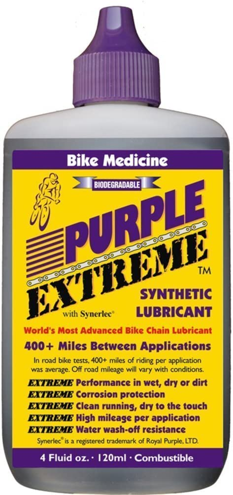 Bike Medicine Purple Extreme Performance Synthetic Chain Lubricant