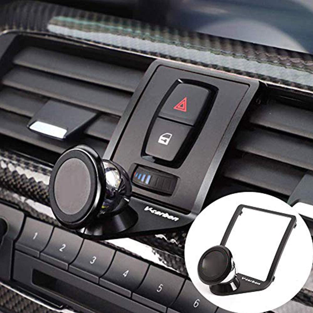 yuechi phone mount for bmw series 3 and 4