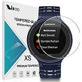 Garmin Forerunner 630 Pellicola Vetro Temperato,Vikoo 2-pack 9H 2.5D 0.26mm Ultra Sottile HD Anti-graffio Anti-frantumazione Pellicola Protettiva Schermo Tempered Glass Screen Protector per Garmin Forerunner 630 Smartwatch