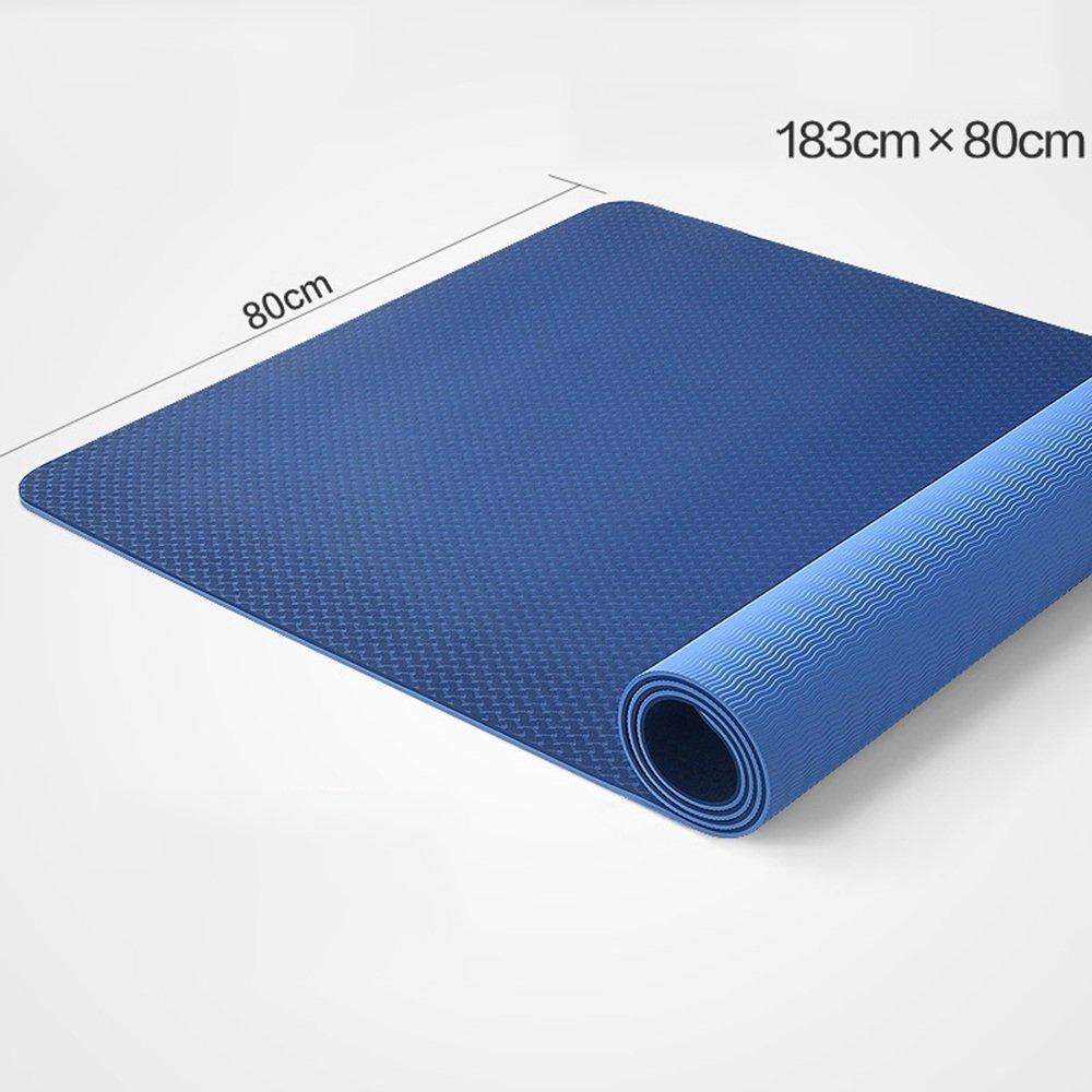 LQQGXL Yogamatte Antirutschmatte, praktizierende Tanzpraxis Fitness-Yoga-Matte
