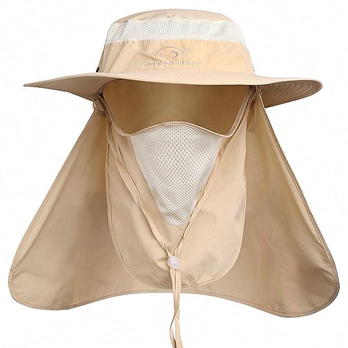 集最大效果的防晒,通风,速干,防蚊虫于一体的太阳帽