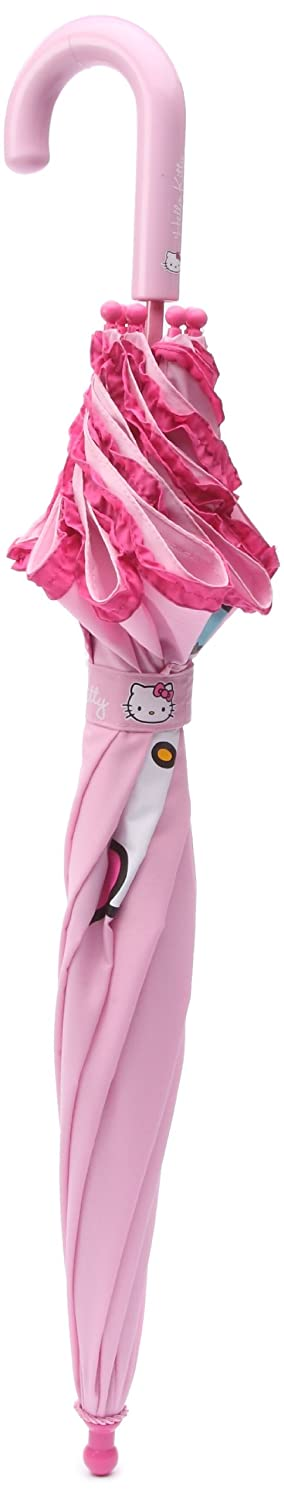 Hello Kitty - Paraguas Hello Kitty Volantes Fucsia: Amazon.es: Ropa y accesorios