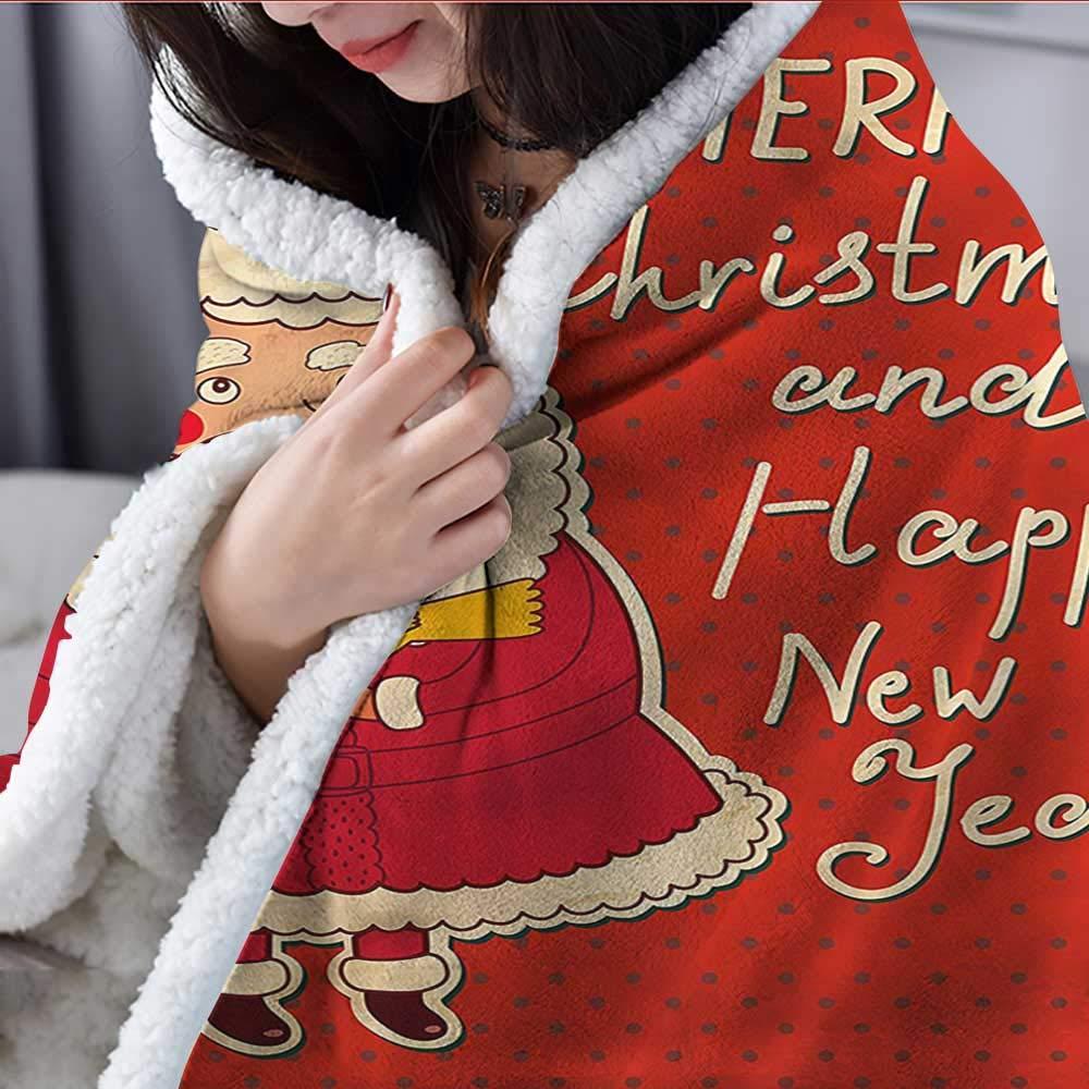 Amazon.com: AndyTours - Manta de peso, diseño navideño ...