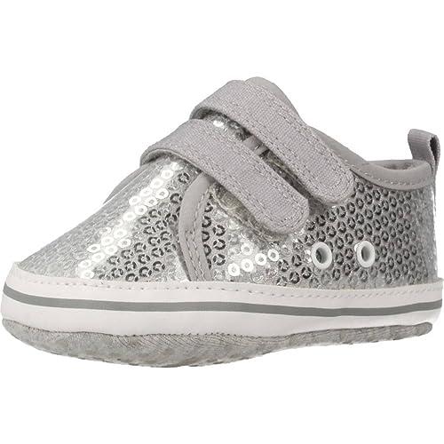 Zapatillas para niña, Color Plateado, Marca CHICCO, Modelo Zapatillas para Niña CHICCO NERIK Plateado: Amazon.es: Zapatos y complementos