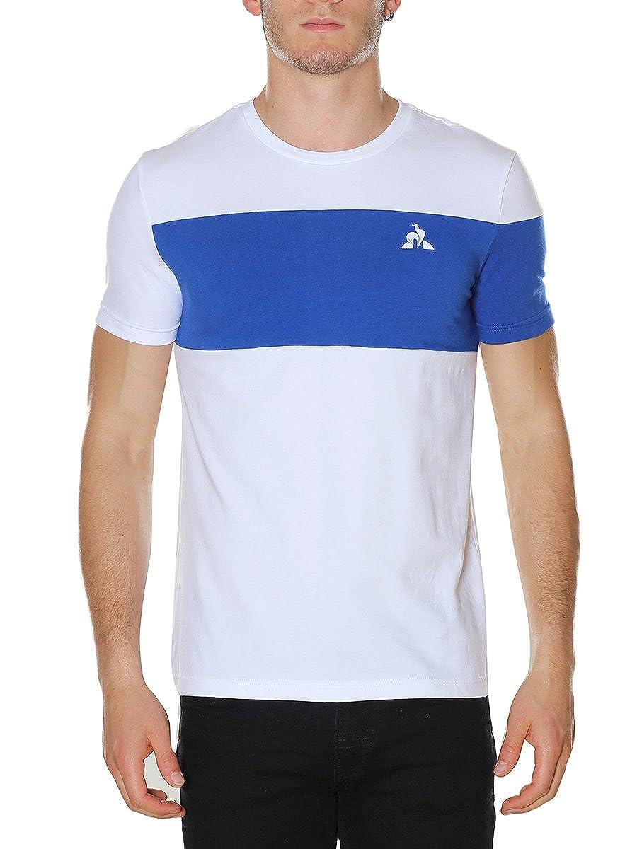 Maglietta Uomo le coq Sportif Tech Tee SS N/°1 M Dress Blues