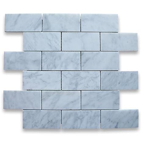 Amazon.com: Italiano de carrera de mármol blanco de Carrara ...