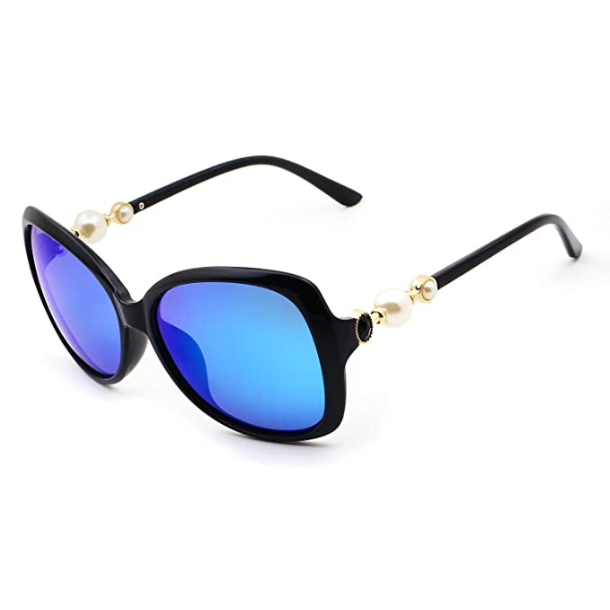 Amazon.com: Leckirut Gafas de sol polarizadas de gran tamaño ...