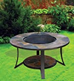 Deeco Consumer Products Arizona Sands Ii Fire Pit Table