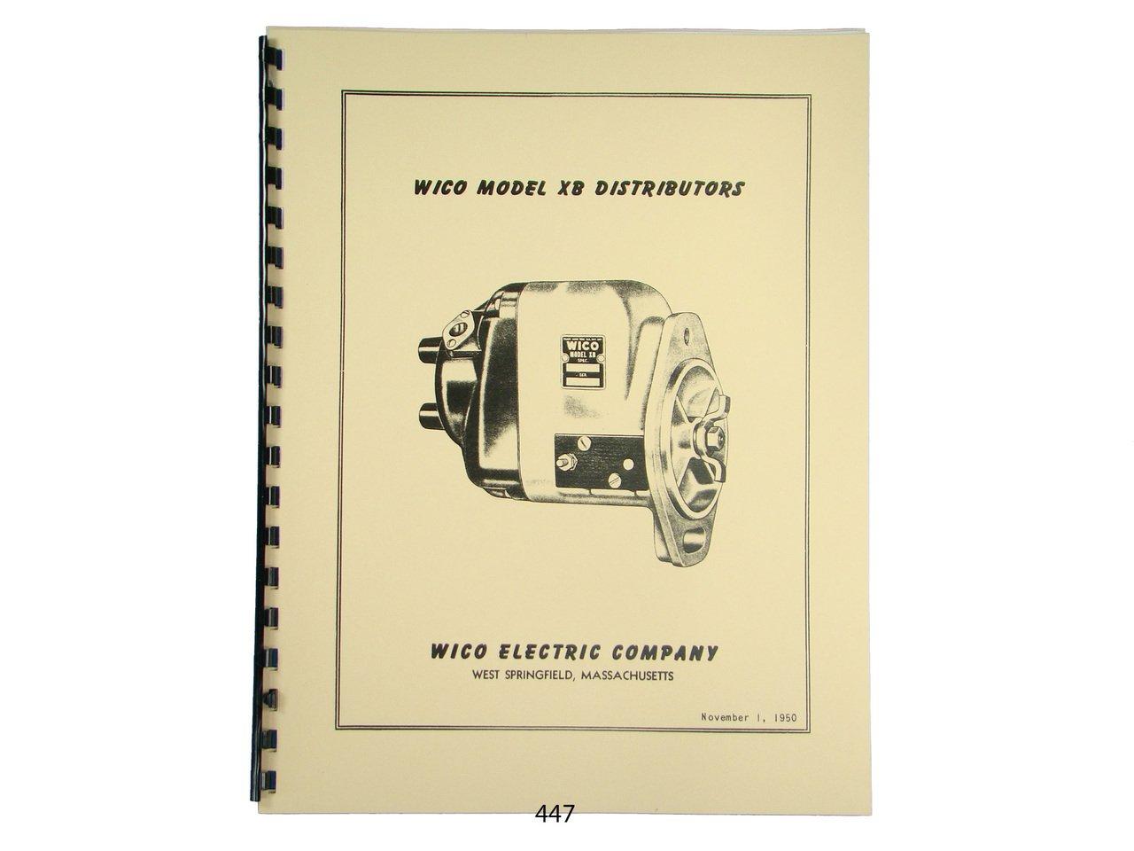 Wico Service & Parts Manual for XB Distributor Magneto John Deere, Oliver:  Wico Magnetos: Amazon.com: Books