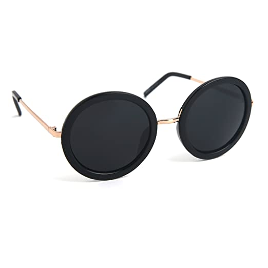 91788d241f JOOX Retro Round Sunglasses Small Mirror Hippie Vintage Inspired JX3028-420