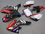 2L SOBE GRAPHICS DECALS PLASTIC KIT HONDA CRF50 DE03+