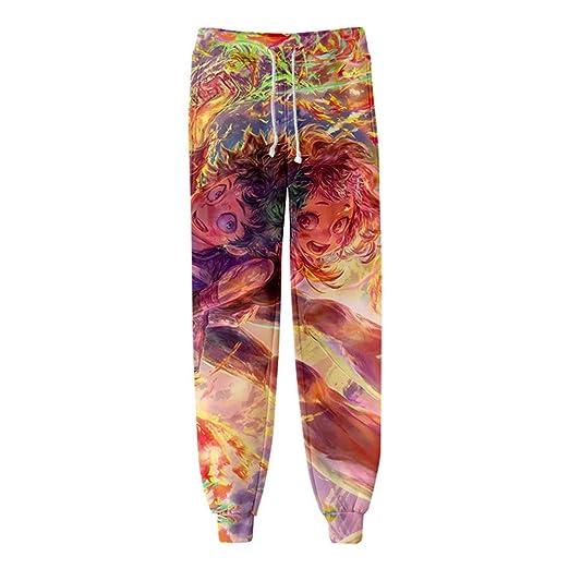 Zcbm Unisexo Pantalones Pantalon Jogging Pants 3D Impresión My ...