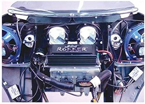 J&M Audio Rokker 330 Watt 2 Channel Amplifier Kit