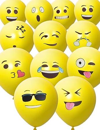 Hometools Eu 33 Stuck Smiley Luft Ballons Lustige Freche Emoji