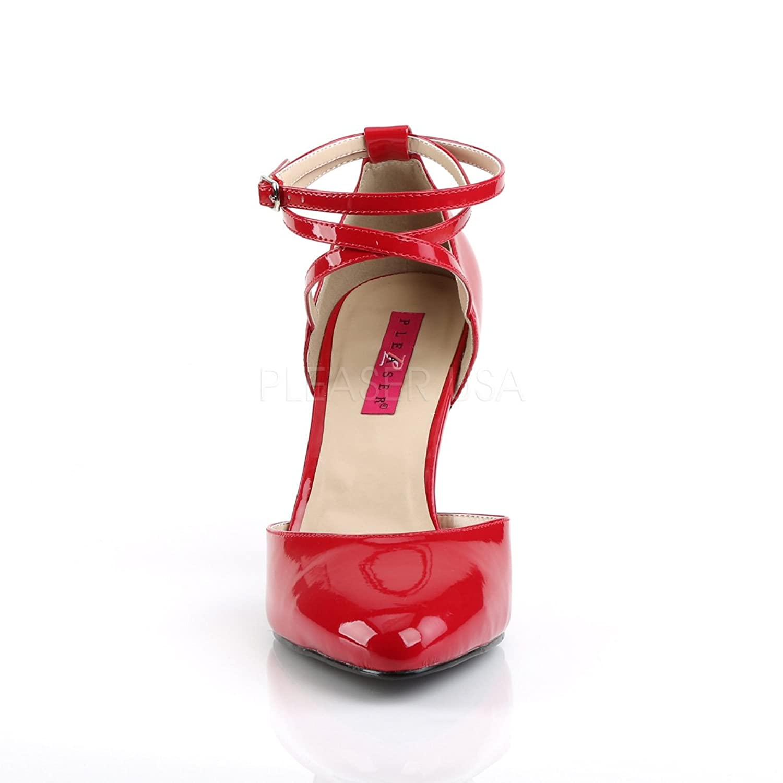 96a25005a03aa6 Pink Label Pumps in Übergrößen Dream-408 Lack rot Big Size  Amazon.de   Schuhe   Handtaschen