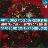 ショスタコーヴィチ : 交響曲 第10番 ホ短調 op.93 (Shostakovich : Symphony No.10 / Mariss Jansons , Royal Concertgebouw Orchestra) [SACD Hybrid] [輸入盤]