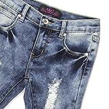 LAVO Girls Super Soft Stretch Fashion Capri Jeans