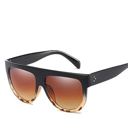 HCIUUI Nuevas gafas de sol al por mayor 15961 Europa y los Estados Unidos grandes gafas