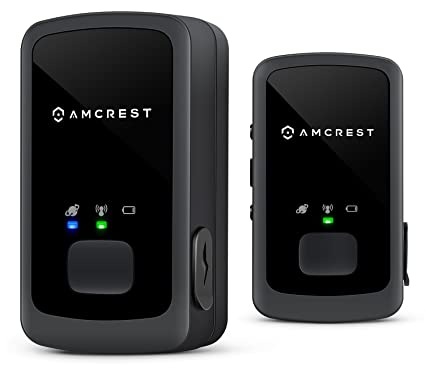 Amcrest 2-Pack AM-GL300 V2 (Upgraded GSM) Portable Mini Real-Time GPS  Tracker - Unlimited Text Message/Email Alerts, Geo-Fencing, 10-14 Day  Battery,