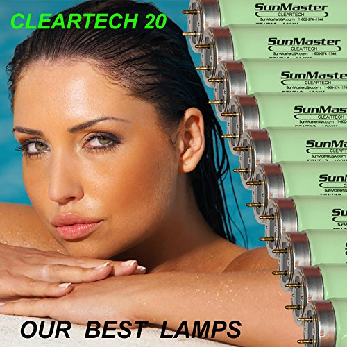 16 SunMaster Cleartech 20 Tanning Lamps / Bulbs