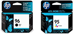 HP 96 | Ink Cartridge | Black | C8767WN & 95 | Ink Cartridge | Tri-Color | C8766WN