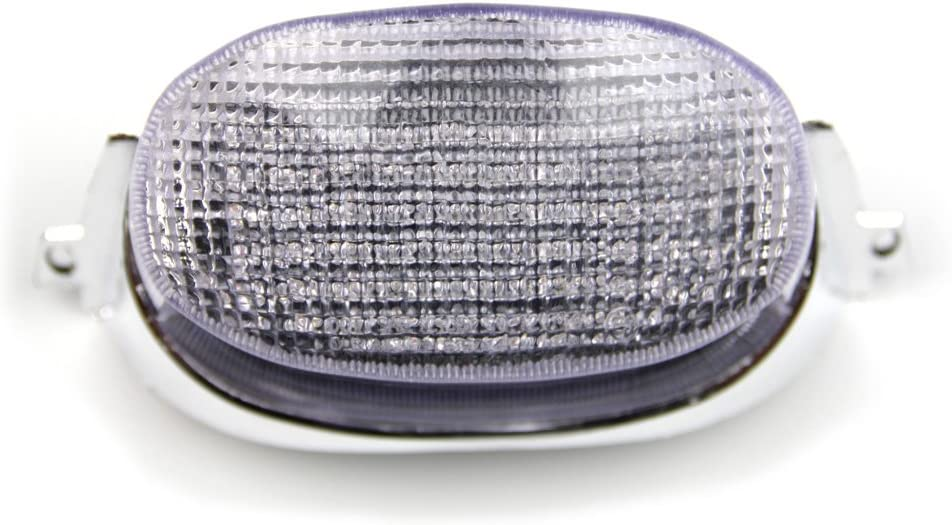 Klar LED-Bremslicht mit integrierten Blinker f/ür Suzuki Gsxr 600 750 1100 1993//1998