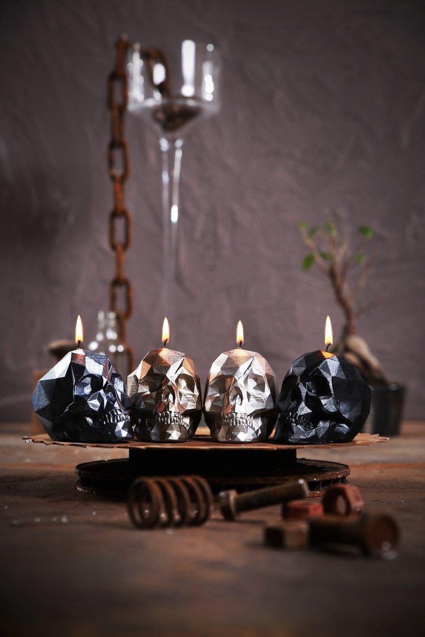 Candellana Candles 5902841369252 Skull Small 4 pcs-Assorted I