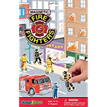 Magnetic Firefighters Playset
