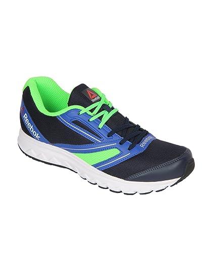 de1dea7ed094 REEBOK Men EXPLORE RUN Navy Running Shoes  Buy Online at Low Prices ...