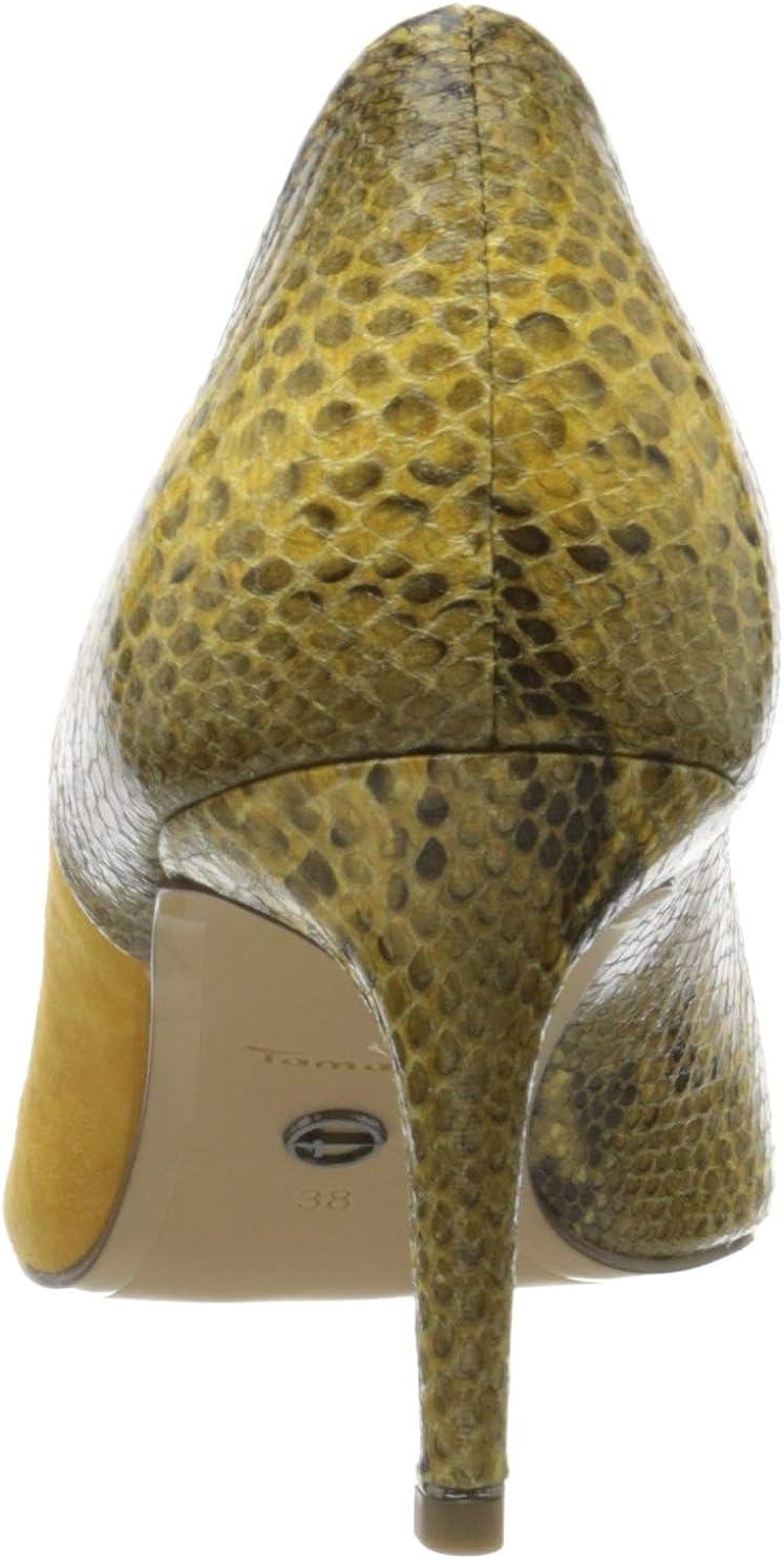 Tamaris 1-1-22401-34, Escarpins Femme Jaune Saffron Comb 691