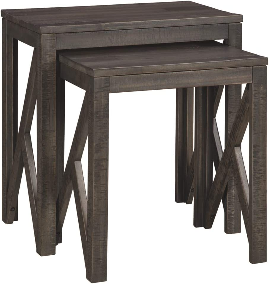 Signature Design by Ashley - Emerdale Accent Tables - Set of Two - Casual - Gray