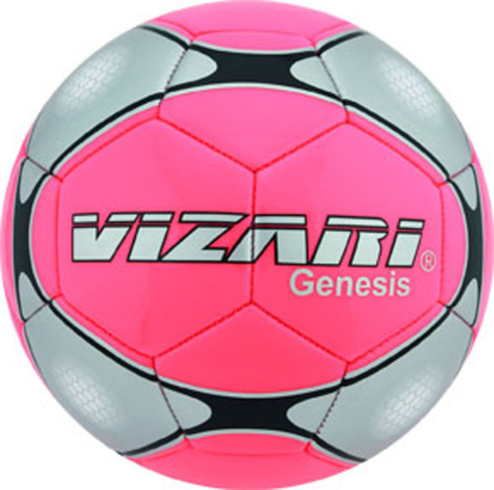 Vizari Genesisボール B00R92ANGI Size 5|ピンク ピンク Size 5