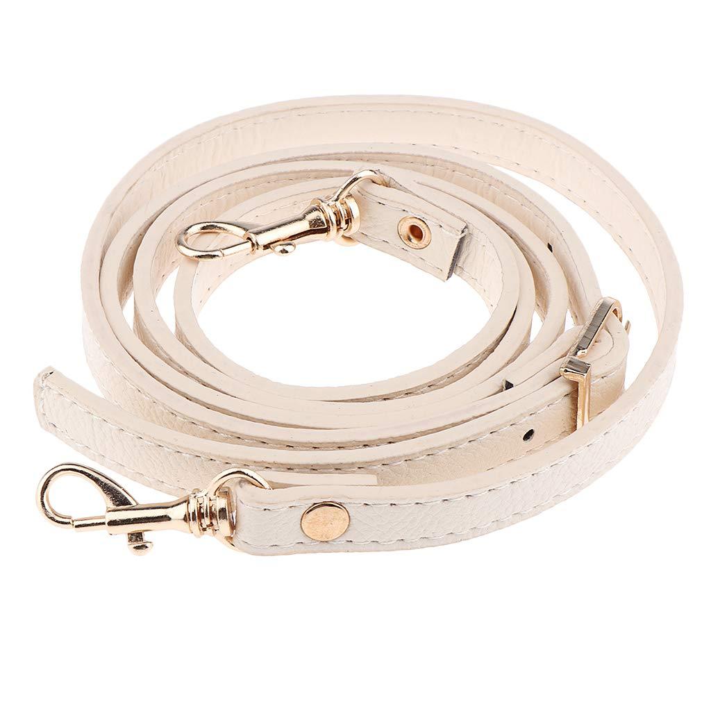 Misright 120cm PU Leather Adjustable Length Replacement Cross Body Purse Handbag Bag Shoulder Bag Wallet Strap