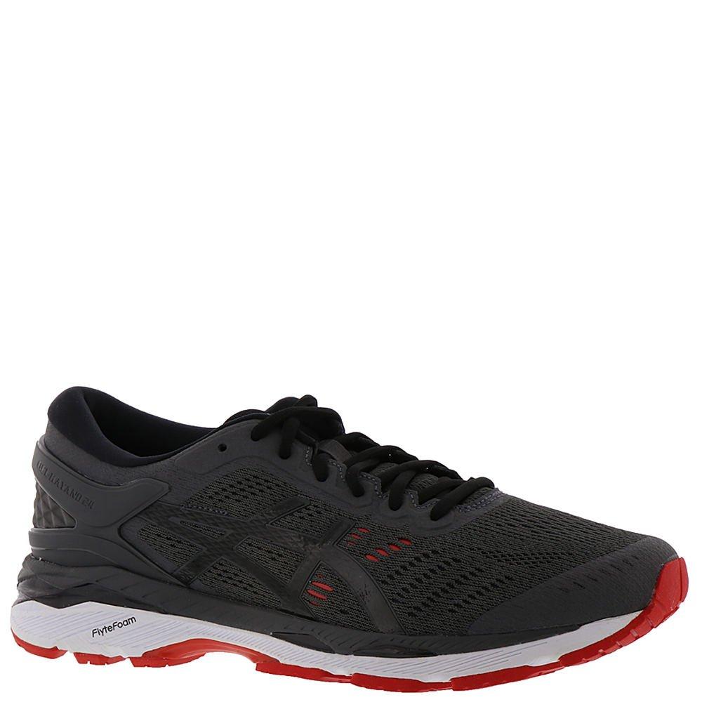 37b985d62288 ASICS Men s Gel-Kayano 24 Running Shoe Dark Grey Black Fiery Red Size