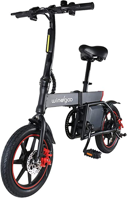 GYROBOARDER E-Scooter Faltbarer Elektroroller Erwachsene 20 km//h 250W Motor Electric Scooter