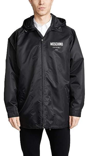 best cheap ce4c4 fc5b4 Moschino Giubbotto Uomo Nero 50 EU: Amazon.it: Abbigliamento