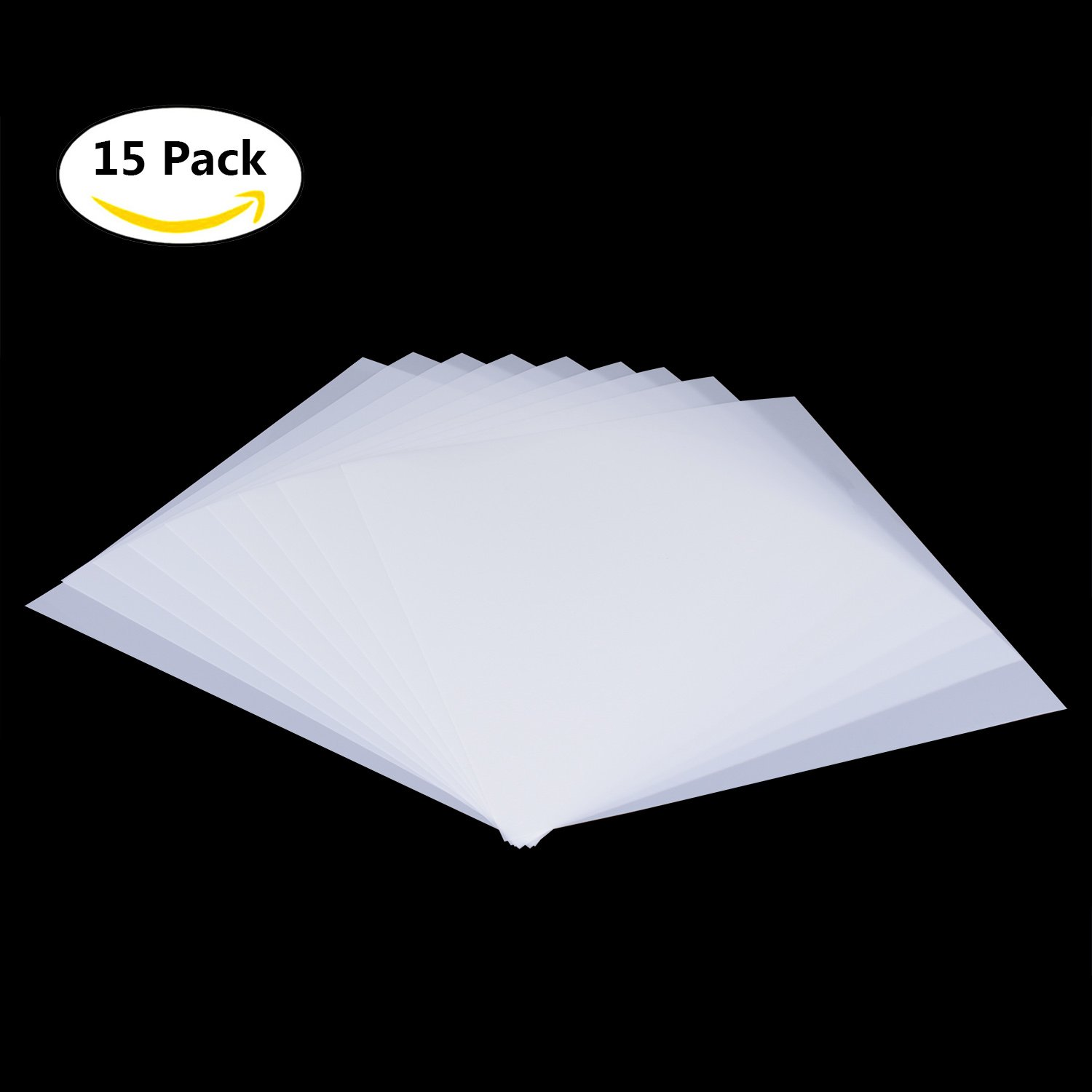 15 Pieces Blank Stencil Sheets,Square Blank Mylar Templates, Make Your Own Stencils with Cutting Machines, 12 x 12 inch