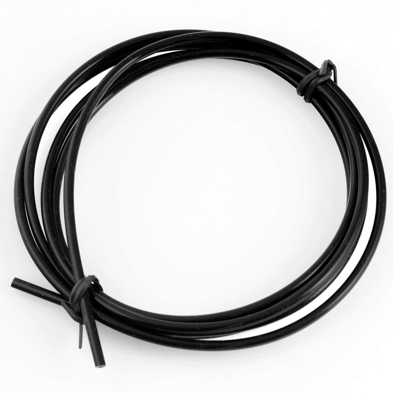 Amazon.com: Tubo de politetrafluoroetileno de teflón negro ...