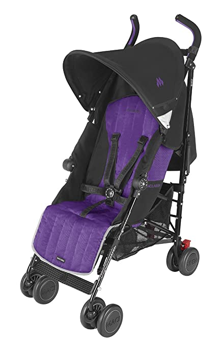 Maclaren Quest Stroller, Black/Majesty by Maclaren