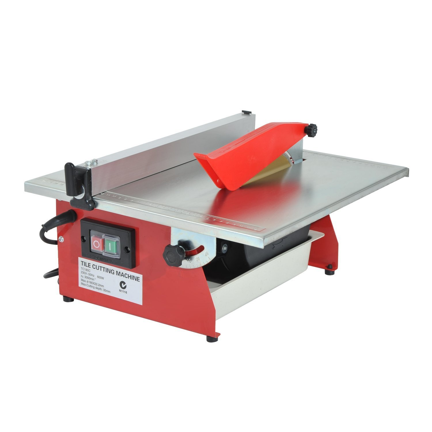 HOMCOM 7'' Portable Table Wet Cutting Tile Saw