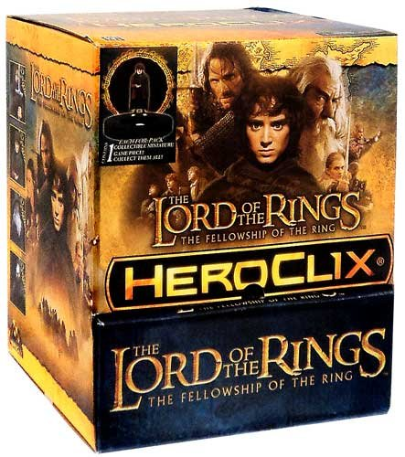 見事な Lord of HeroClix the Rings Fellowship of [24 the Ring HeroClix Feed Gravity Feed Box [24 Packs] B00CX4UR7M, 美容と健康の専門店 美健ショップ:724bd88c --- arianechie.dominiotemporario.com