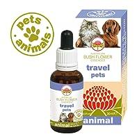 Green Remedies - Travel pets - 30 ml | Rimedi Naturali per Animali domestici | Fiori australiani | Viaggio