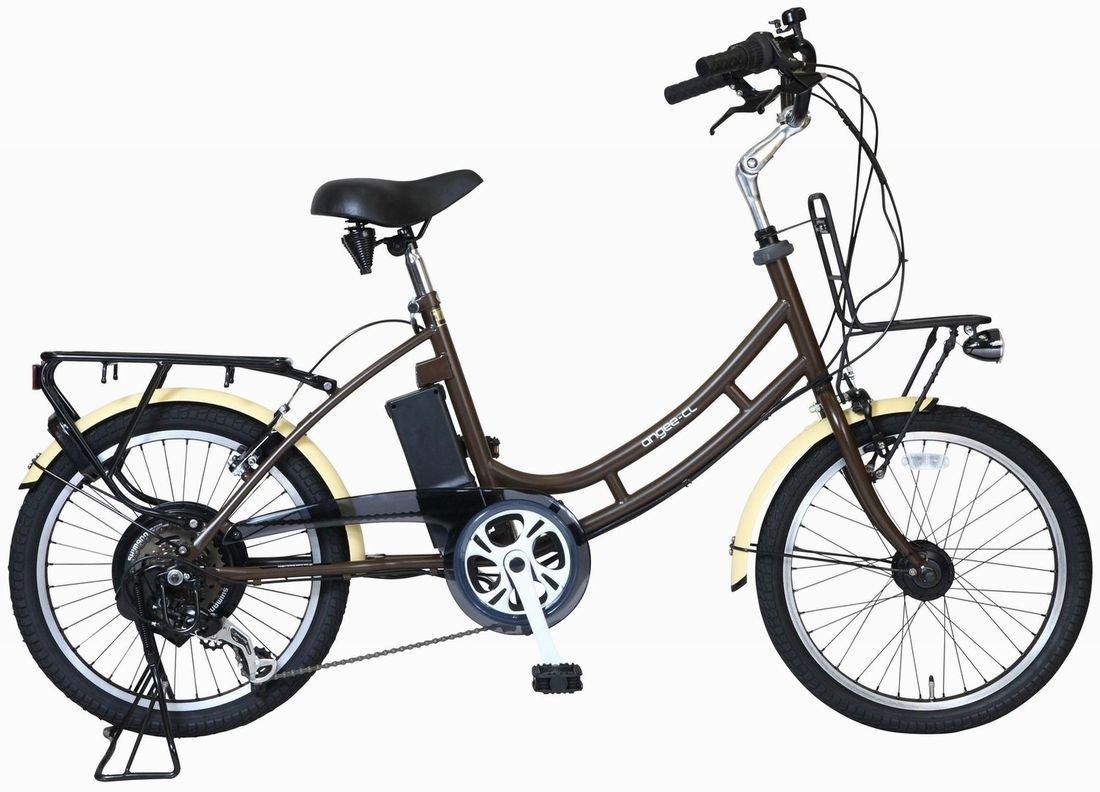 Aero 電動アシスト自転車 assistant angee CL+L2 B00ZBOW1KMマットブラウン
