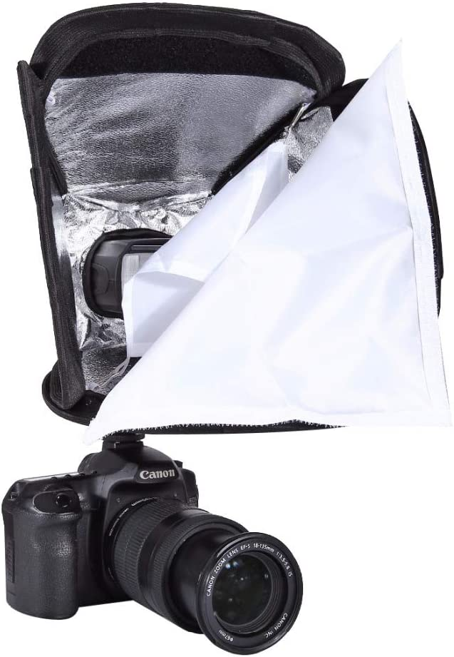 23x23cm Portable Flash Light Softbox Speedlight Diffuser Soft Box Cover