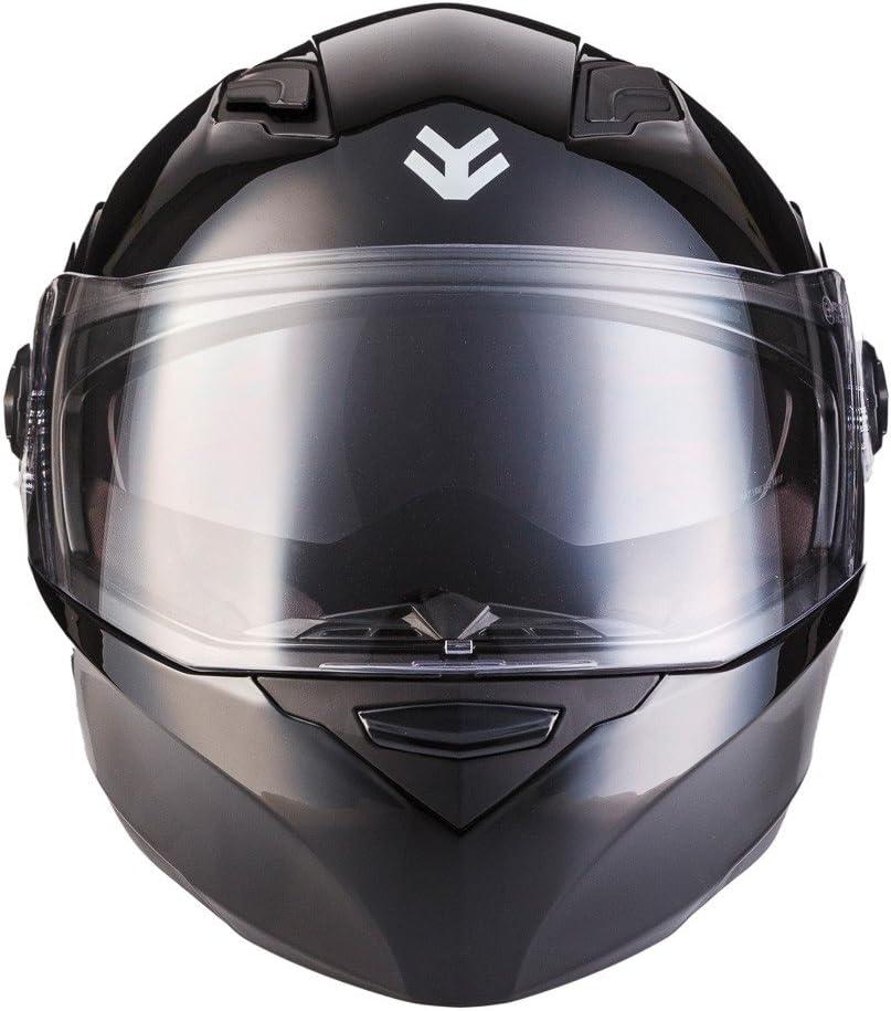 ECE certificato XS ARMOR Helmets AF-77 Casco Integrale Bianco Lucido 53-54cm