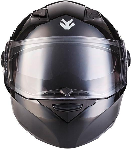 "59-60cm ARMORHELMETS/® AF-77 /""Shiny Black/"" /· Integral-Helm /· Full-Face Motorrad-Helm Roller-Helm Scooter-Helm Cruiser Sturz-Helm Street-Fighter-Helm MTB /· ECE Sonnenvisier Schnellverschluss Tasche L"