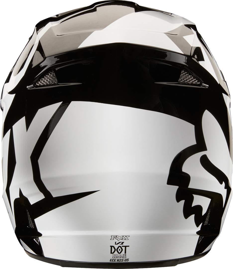 2018 Fox V1 Race Helmet Orange