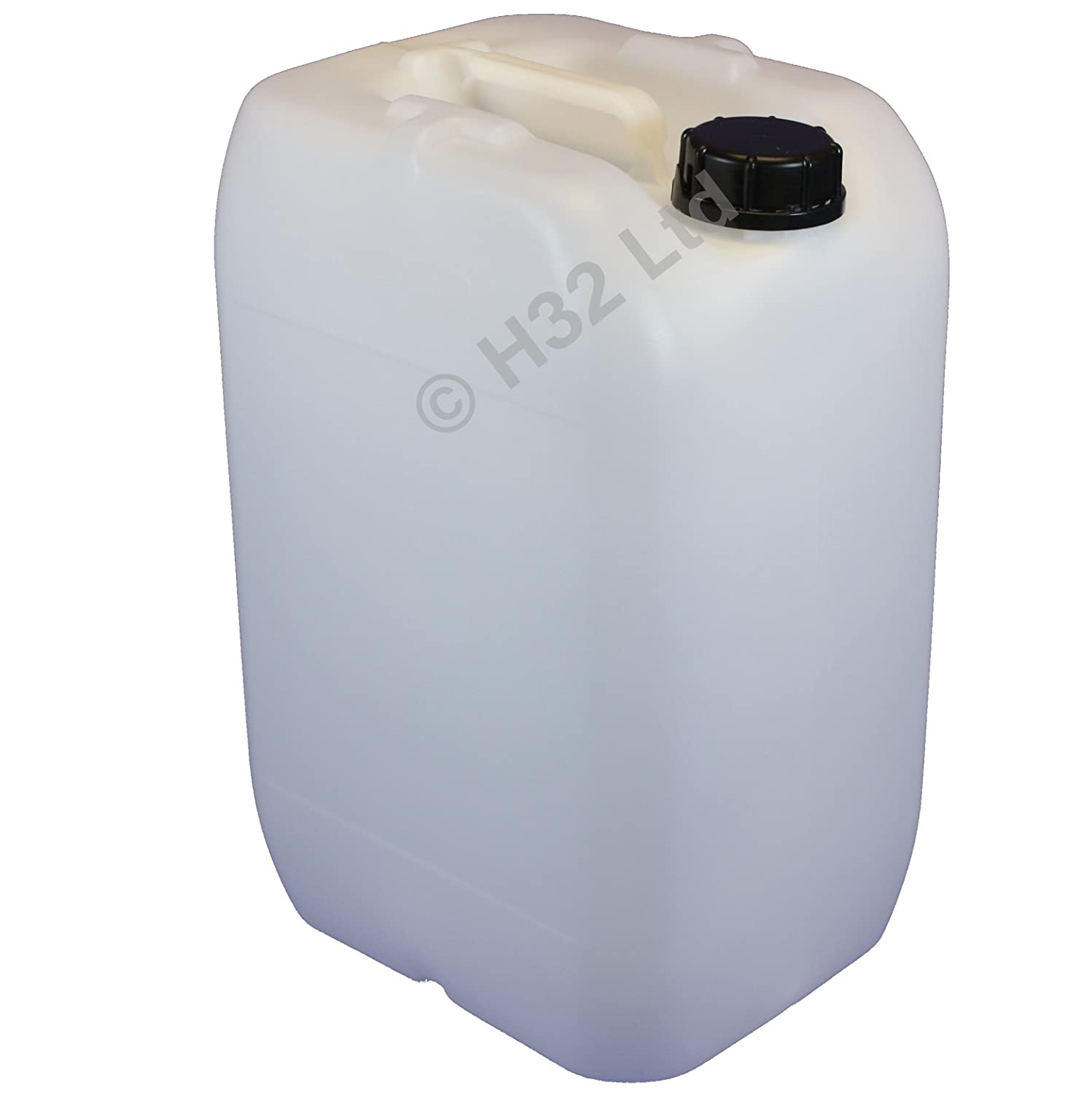 25 Litre PLASTIC WATER CONTAINER - DRUM - JERRICAN - 25L Containers -  Anti-glug system
